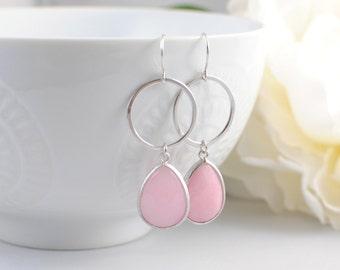 The Shauna Earrings -Pink