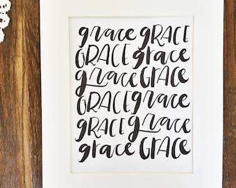 grace -  art print