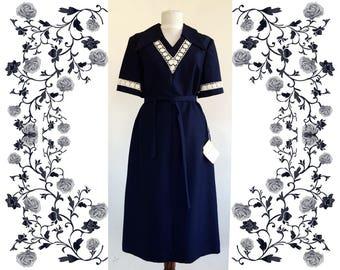 "1970's Vintage Deadstock NOS  ""Marschner Exclusive""  Dress"