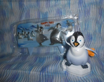 Bakery Crafts Happy Feet-2 Cake Topper