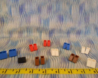 """Lego Replacement """"Feet""""-10 Pairs   #L-1"""