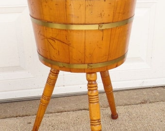 Vintage Cosco Chair Step Stool Yellow Mid By