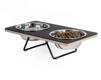 the Boxer 2 Small Modern Pet feeder