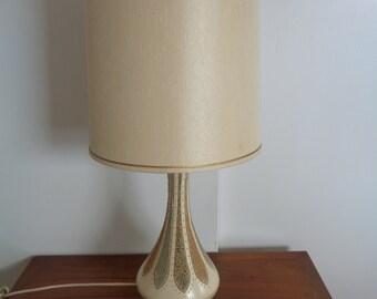 Vintage,Mid Century,Modern Ceramic Art Pottery Table Lamp