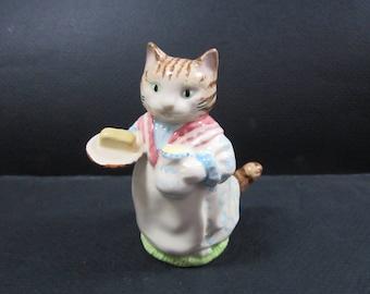 Royal albert england Beatrix Potter figurine mrs ribby