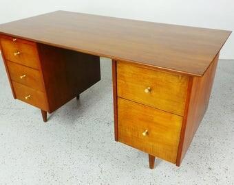 mid century modern Paul McCobb Planner Group executive desk