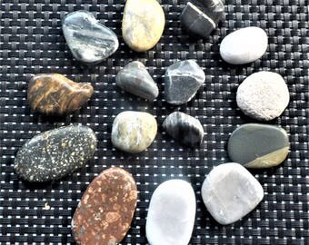 Polished Beautiful Australian Beach Stones 4.33 oz