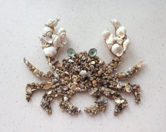 Seashell Crabby Wall Art