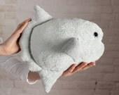 Mola Mola Ocean Sunfish - Fish stuffed toy - plush toy fish  - pillow toy
