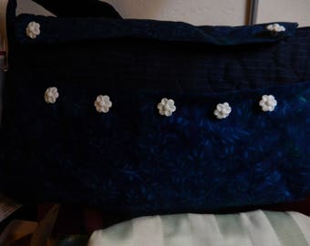 Navy Shoulder Purse/Bag with 26inch shoulder strap