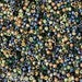 8/0 Toho/Miyuki Seed Bead Mix - 15 grams - Deep Sea Mix  -3541- Exclusive Seed Bead Mix