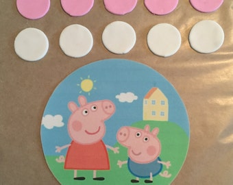 Ready -to- Ship Peppa Cake Decorating Kit