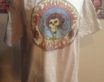 1980's Grateful Dead Concert T Shirt Kelley Mouse