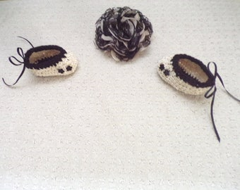 Victorian Era Booties For Your Baby Girl!