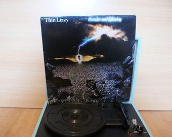 Thin Lizzy Thunder and Lightning Vinyl Album