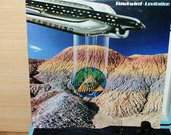 Hawkwind Levitation Blue Vinyl Record Album