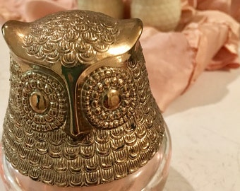 Vintage Avon Owl Trio- Free Shipping