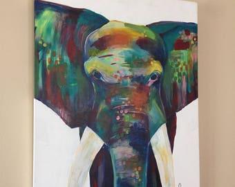 Elephant 20x24
