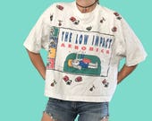 Funny Graphic Tee Shirt/ Graphic t-shirt/ low impact aerobics t-shirt/ gym shirt/ workout/ vintage tee shirt/ comic tee shirt/ 90s tee