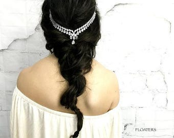 Bridal Hair Accessories, Bridal Hair Jewelry, Wedding Headband, Bridal Headpiece, Wedding Crystal Headband, Hair Accessories, Weddings