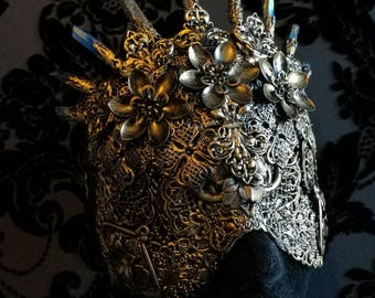 Crystal Crown Blind Mask