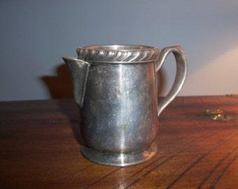 Vintage Wear Brite Grand Silver Co. Creamer