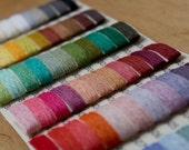 Sample card - 66 LINEN yarn colors