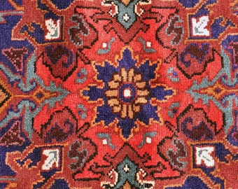 Lush Persian Floral Rug -- 7 ft. by 4 ft. 6 in.