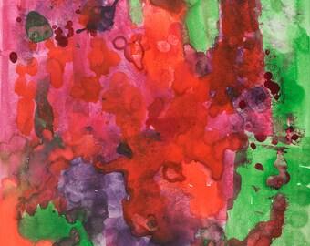 Abstract Colorful Art, 11x14, Wall art, Art under 50, Interior Design art, Colorful Art, Colorful Wall Art, wall art, Home decor