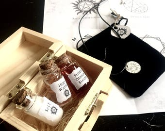 CW Supernatural Ultimate Protection Kit - Vial Collectable Gift Vial Set SPN