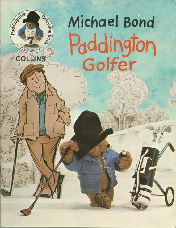 1977 JUGADOR de OSO PADDINGTON  libro de por EveryPicTellsAStory