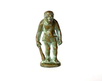 Caveman Statue - Man Cave Gift - Boyfriend Gift - Unique Mens Gift -Prehistoric Caveman - SRG Caveman - Fun Gift for Him -Miniature Caveman