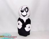 UNDERTALE inspired: W.D. Gaster 27cm minky handcrafted plush