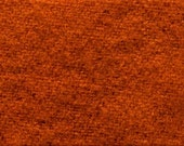 """Fat Eighth - Wool Fabric - Hand Dyed - Clementine - 100% Wool - 16"""" x 12"""""""