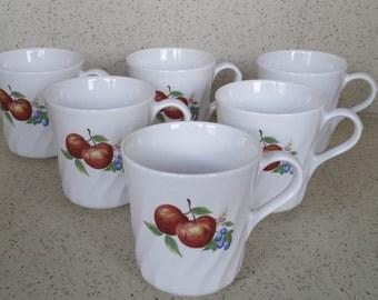 Corelle Chutney Mugs - Set of 6
