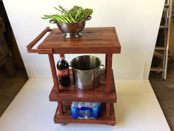 Rustic Bar Cart from Feath & Kee