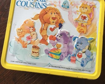 Care Bear lunchbox, vintage lunchbox, Care Bears, lunch box, lunch kit