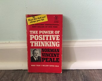 "Norman Vincent Peale ""The Power of Positive Thinking"" paperback book"
