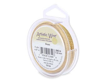 Non Tarnish Brass Artistic Wire – TWISTED ROUND – Permanently colored - You Pick Gauge 18, 20, – 100% Guarantee