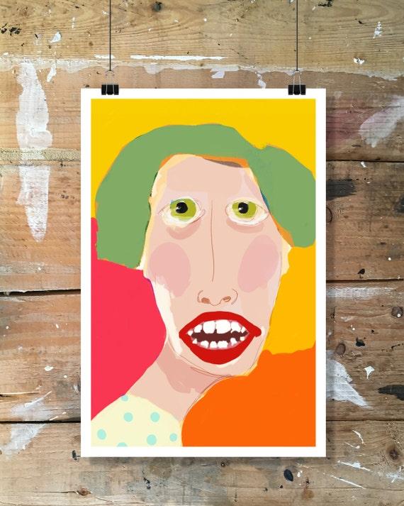 Fine art, poster, illustration, digital printing, contemporary art, modernart