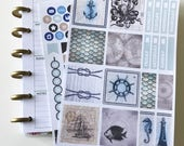 Nautical Mile Mini Happy Planner Collection - Planner Stickers - Happy Planner