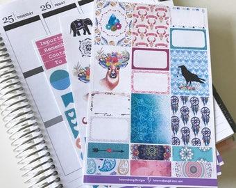 Free Spirit Mini Collection - Planner Stickers - Erin Condren - Happy Planner