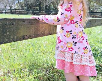 Abby's Road Trip Tunic, PDF sewing pattern, Tunic, Shirt, Dress