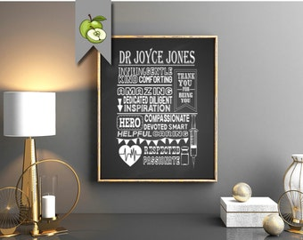 Thank You Nurse week, Thank you doctor, thank you, digital file,  Typographic art,  Digital file,  printable, print this yourself