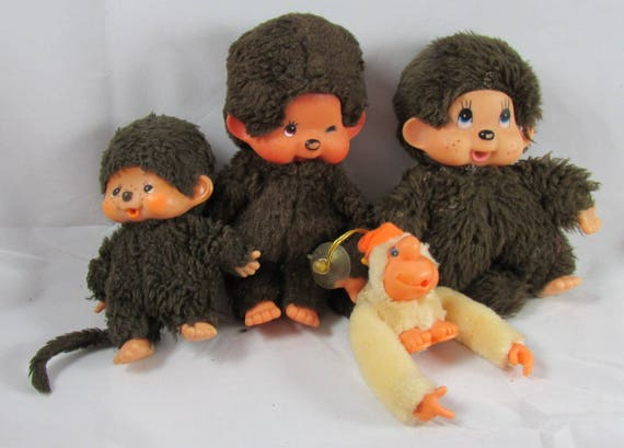 Monchhichi Monkeys Plush Thumbsuckers