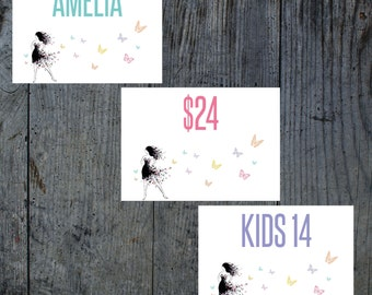 Lularoe Butterfly Style Size Price cards/tags, Butterfly name, size price cards, Online Pop up, Launch party, 5x7 Size, INSTANT DOWNLOAD