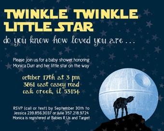 Star Wars Baby Shower - Twinkle Twinkle