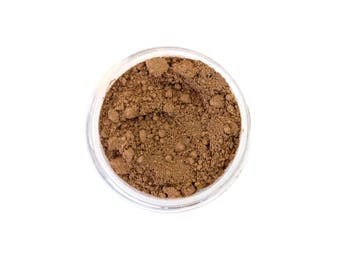 Siena - Natural Mineral Foundation - Medium Tan Warm Tone Foundation - Vegan Cosmetics