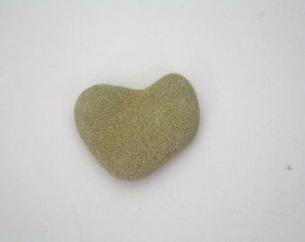 Heart Shaped Beach Stone / Rock / All Natural