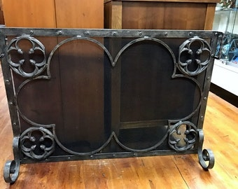 Shop for Vintage fireplace screen on Etsy